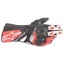 Alpinestars Sp-8 V3 Gloves Black White Bright Red