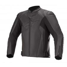 Alpinestars Faster V2 Airflow Leather Jacket Black Black