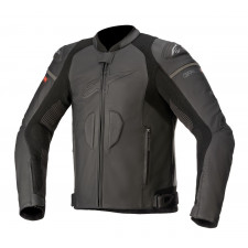 Alpinestars Gp Plus R V3 Rideknit Leather Jacket Black Black