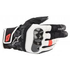 Alpinestars Smx Z Drystar Gloves Black White Red Fluo