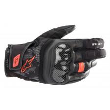 Alpinestars Smx Z Drystar Gloves Black Red Fluo