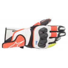 Alpinestars Sp-2 V3 Gloves White Red Fluo Black