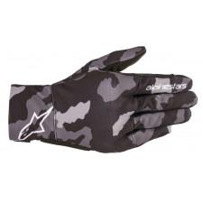 Alpinestars Reef Gloves Black Gray Camo