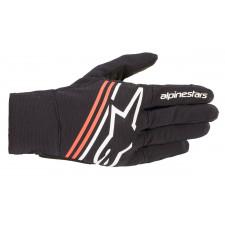 Alpinestars Reef Gloves Black White Red Fluo
