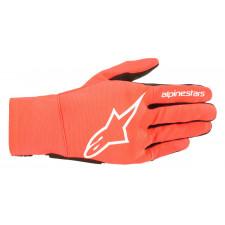 Alpinestars Reef Gloves Red Fluo White Black