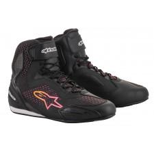Alpinestars Stella Faster-3 Rideknit Shoes Black Yellow Pink