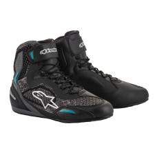 Alpinestars Stella Faster-3 Rideknit Shoes Black Teal