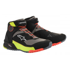 Alpinestars Cr-x Drystar Riding Shoes Black Yellow Fluo Red Fluo