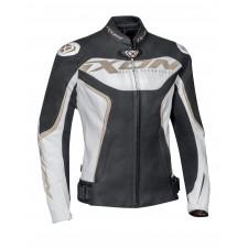 IXON Trinity Jkt Jacket Blanc/Noir/Or