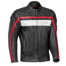 IXON Pioneer Jacket Noir/Blanc/Rouge