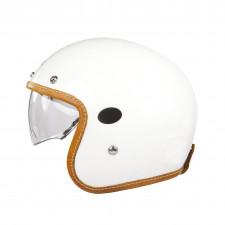 Helstons Naked Helmet Carbon Blanc