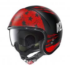 Nolan N21 Jetfire Flat Black/Red