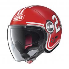 Nolan N21 Visor Quarterback Flat Corsa Red