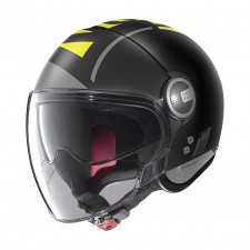 Nolan N21 Visor Avant-Garde Flat Black/Yellow