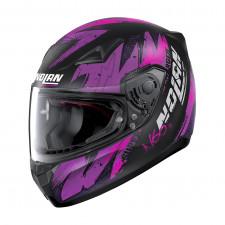 Nolan N60 5 Bounty Flat Black/Purple Pink
