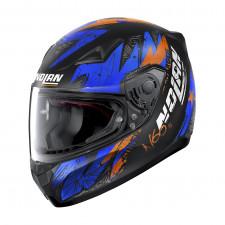 Nolan N60 5 Bounty Flat Black/Blue Orange