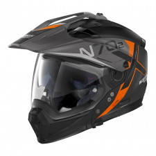 Nolan N70 2 X Bungee n-com Flat Black/Orange