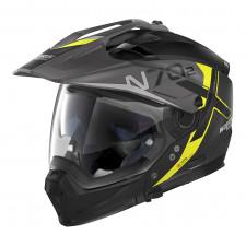 Nolan N70 2 X Bungee n-com Flat Black/Yellow