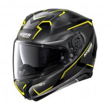 Nolan N87 Plus Overland n-com Flat Black/Yellow
