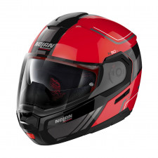 Nolan N90 3 Voyager n-com Corsa Red