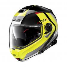 Nolan N100 5 Hilltop n-com Glossy Black/Yellow