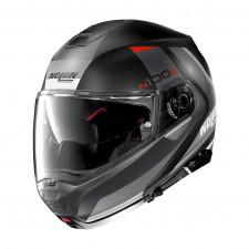 Nolan N100 5 Hilltop n-com Flat Black/Grey