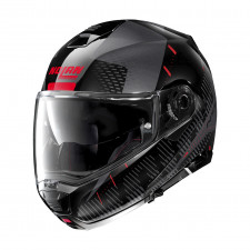 Nolan N100 5 Lightspeed n-com Metal Black/Red
