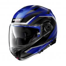 Nolan N100 5 Plus Overland n-com Cayman Blue
