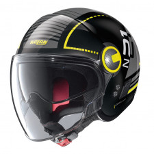 Nolan N21 VISOR RUNABOUT Glossy Black/Yellow