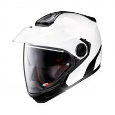 Nolan N40 5 GT Classic n-Com Metal White