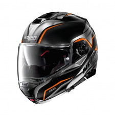 Nolan N100 5 BALTEUS n-Com Glossy Black/Orange