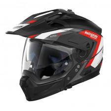 Nolan N70 2 X Grandes Alpes n-Com Flat Black/Red