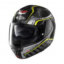 X-lite X1005 Carbon Cheyenne n-com Carbon/Silver Yellow
