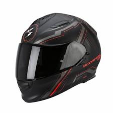 Scorpion EXO-510 AIR SYNC Noir mat/Rouge fluo