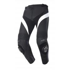 Alpinestars Missile Cuir Pants Noir Blanc
