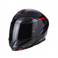 Scorpion EXO 920 Shuttle Noir Argent Rouge