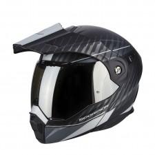Scorpion ADX 1 DUAL Noir mat Argent
