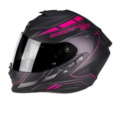 Scorpion EXO 1400 AIR CUP Noir mat Cameleon Rose