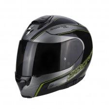 Scorpion EXO 3000 AIR STROLL Noir Argent Jaune fluo
