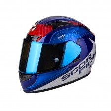 Scorpion EXO 710 AIR Mugello Bleu Blanc