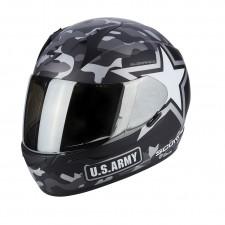 Scorpion EXO 390 ARMY Noir mat Argent