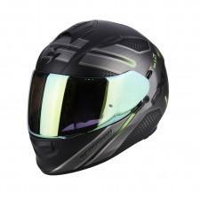 Scorpion EXO 510 AIR ROUTE Noir mat Vert