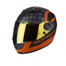 Scorpion EXO 490 GENESI Noir mat Orange