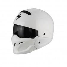 Scorpion EXO COMBAT Solid Blanc