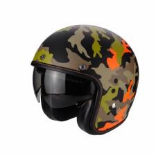 Scorpion BELFAST Mission Noir Mat Orange