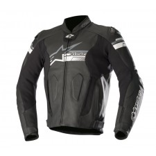 Alpinestars Fuji Leather Jacket Noir