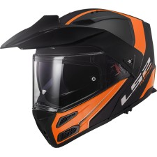 LS2 METRO EVO RAPID MAT Noir ORANGE
