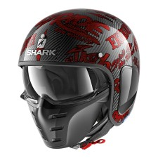 Shark S-DRAK CARBON FREESTYLE CUP DRR