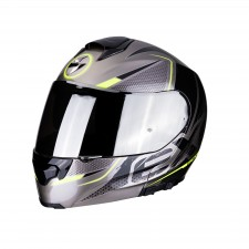 Scorpion EXO-3000 AIR CREED Titanium-Black-Neon yellow