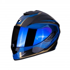 Scorpion EXO-1400 AIR CARBON ESPRIT Black-Blue
